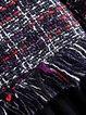 Elegant Checkered/Plaid Long Sleeve Dress