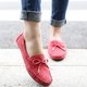 Casual Suede Bowknot Slip On Loafers