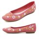 Canvas Casual Flower Embroidered Flats