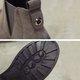 Low Heel Suede Elastic Slip On Casual Boots