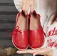 Large Size Flower Embroidered Bow Flats