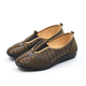 Women Casual Printed Cloth Flat Heel Loafers