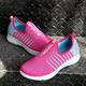 Women Color Block Lace-up Canvas Sneakers