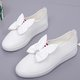 Bowknot Flat Heel Casual PU Loafers