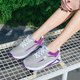 Large Size Breathable Lace-up Platform Sneakers