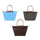Casual Waterproof Nylon Folding Shoulder Bag Shopping Handbag