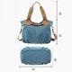 Women Vintage Durable Canvas Handbag Crossbody Bag