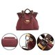 Ladies Durable Canvas Casual High Capacity Travel Handbag Crossbody Bag