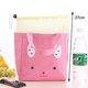 Durable Cavans Cute Animal Pattern Aluminum Foil Thermal Lunch Box Storage Bag