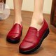 Microfiber Leather Driving Non-slip Flat Heel Loafers