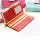 Ladies Casual Stylish PU Leather Phone Purse Card Holder Long Wallet
