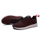 Fly-Woven Fabric Lace-up Sneakers