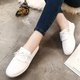 Bowknot Summer PU Slip On Loafers