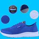 Plus Size Breathable Lace-up Sneakers