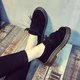 Bowknot Flocking Casual Loafers