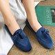 Tassel Artificial Suede Cozy Loafers
