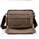 Casual Durable Canvas Multi-slots Crossbody Bag For Men Women