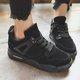 Lace-up Artificial Suede Platform Sneakers