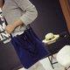 Casual Drawstring Shoulder Bag Stylish Dating Shopping Handbag For Women