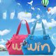 Women Large Capacity Letter Casual Light Tote Bag