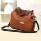 Chic Large Capacity PU Leather Tote Bag Crossbody Bags For Women