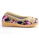 Soft Breathable Flower Embroidered Flat Loafers