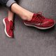 Flyknit Fabric Athletic Slip On Sneakers