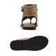 Flip-flops PU Zipper Flat Heel Sandals