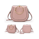 Exquisite Gold-tone Hardware PU Leather Elegant Crossbody Bag For Ladies