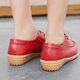 Driving Flat Heel Leather Loafers