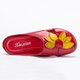Flower Leather Casual Slippers