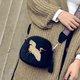 Retro Velvet  Animal Pattern Embroidery Crossbody Bag For Ladies