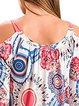 Casual Floral Floral-print Cotton-blend T-Shirt
