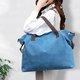 Women Wearproof Canvas Handbags Shoulder Bags Handle Beach Crossbody Bag