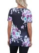 Short Sleeve Floral-print T-Shirt