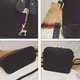 Women Stylish Shell Shape Elk Pendant PU Leather Sweet Crossbody Bag