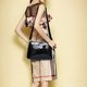 Crocodile Skin PU Leather Party Evening Crossbody Bag For Women
