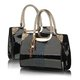 Chic Elegant PU Leather Pendant Hollowed Party Evening Handbag For Women