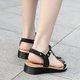 Large Size Rivet Peep Toe Sandals