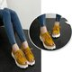 Casual Lace-up Artificial Leather Platform Sandals Creepers