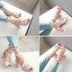 Women Chunky Heel Adjustable Buckle PU Pumps