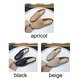 Flat Heel Daily Hollow-out PU Slippers