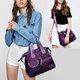 Women Waterproof Nylon Large Capacity Tote Crossbody Bags