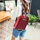 Women Chic PU Leather Travel Shell Pure Shoulder Bags Backpack