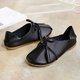 Bow-knot Tassel Multi-Way Flat Slip On Loafers