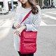 Women Casual 600D Oxford Multi Pockets Crossbody Bag