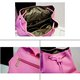 Chic Women PU Leather Multi Pockets High Capacity Backpack