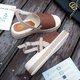 Casual Linen Adjustable Buckle Sandals
