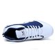 Breathable Artificial Leather Lace-up Sneakers