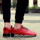Breathable Lace-up Flat Heel Cloth Sneakers